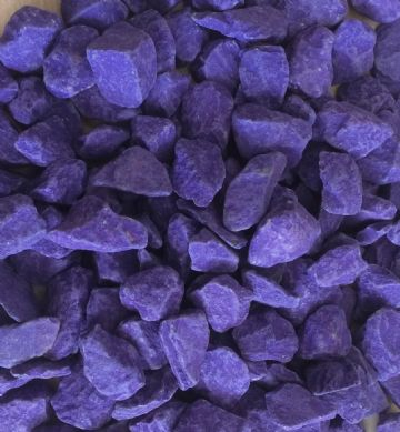 Decorative COLOURED Stones Pebbles Gravels LARGE - PURPLE RAIN